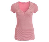 T-Shirt SERAFINO - rot/ weiss gestreift