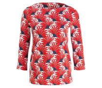 Jerseyshirt LOUNA - weiss/ rot/ navy