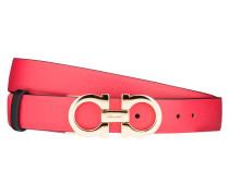 Wendegürtel - schwarz/ rot