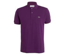 Piqué-Poloshirt Classic-Fit - violett