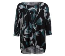 Pullover LILIANA - schwarz/ grün/ weiss