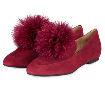 Slipper FARA - mulberry
