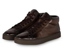 Hightop-Sneaker GLORIA - DUNKELBRAUN