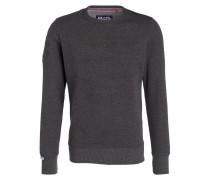 Sweatshirt mit monochromer Prägung