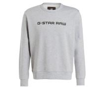 Sweatshirt TAREV - grau meliert