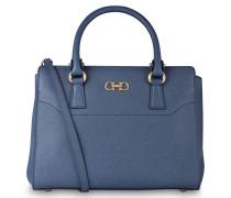 Handtasche DOUBLE GANCIO SMALL - blau