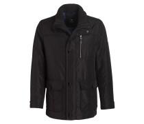 Jacke mit herausnehmbarem Futter - schwarz