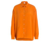 Seidenbluse ECLUNI - orange