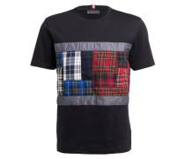 T-Shirt - schwarz/ rot/ grün