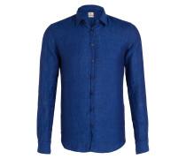Leinenhemd STEVE Slim-Fit - blau