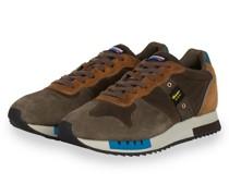 Sneaker QUEENS - KHAKI/ BRAUN/ COGNAC