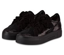 Sneaker BIG mit Pailletenbesatz - schwarz