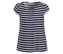 Shirt - navy/ weiss gestreift