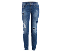 Destroyed-Jeans SINTY - blau