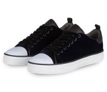 Samt-Sneaker STELA - dunkelblau