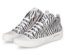 Hightop-Sneaker MID - WEISS/ SCHWARZ
