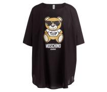 Oversized-Shirt - schwarz