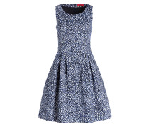 Kleid KOMBASA - schwarz/ weiss/ blau