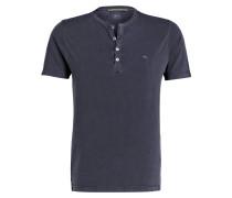 Henley-Shirt - marine