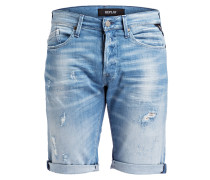 Jeans-Shorts WAITOM - 010 denim