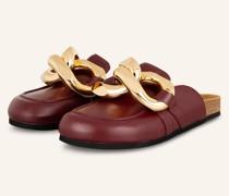 Loafer - DUNKELROT