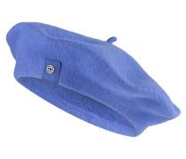 Baskenmütze FLORA - indigo