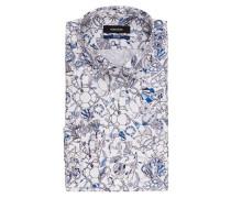 Hemd Tailored-Fit - blau/ weiss