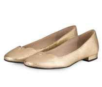 Ballerinas GINA - gold metallic