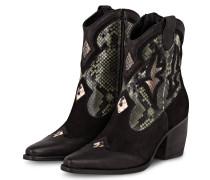 Cowboy Boots LUNA - SCHWARZ