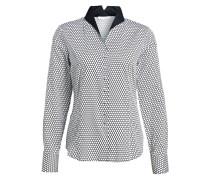 Bluse Comfort Fit - schwarz/ weiss