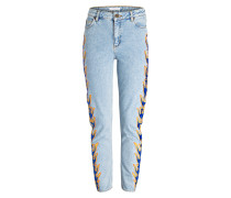 Mom-Jeans - blue vintage   denim