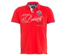 Piqué-Poloshirt BERNAL - rot