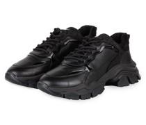 Plateau-Sneaker TAYKE-OVER - SCHWARZ
