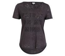 T-Shirt FRIDAY - dunkelgrau