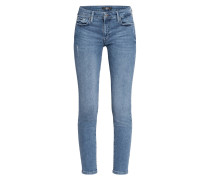 7/8-Jeans PYPER mit Schmucksteinbesatz