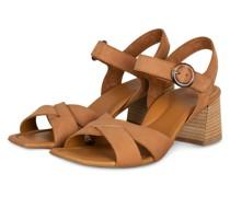 Sandaletten - COGNAC
