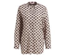 Bluse - hellrosa/ khaki