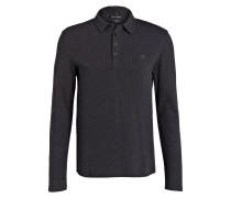 Poloshirt Shaped-Fit - dunkelgrau