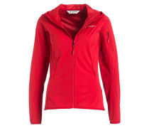 Outdoor-Jacke DURANCE - rot