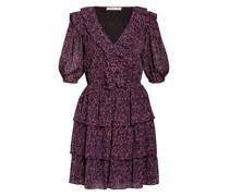 Kleid ZINNIA mit 3/4-Arm und Volants