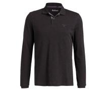 Piqué-Poloshirt - anthrazit