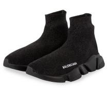 Hightop-Sneaker SPEED mit Glitzergarn