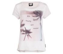 T-Shirt - sand/ altrosa