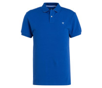 Piqué-Poloshirt Classic-Fit - royalblau