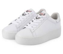 Plateau-Sneaker CULT - weiss