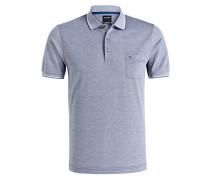 Piqué-Poloshirt modern fit - blau