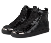 Hightop-Sneaker TOWN - schwarz