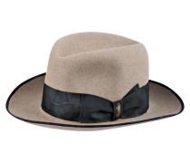 Hut - beige/ schwarz