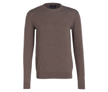 Feinstrickpullover - taupe