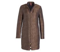 Mantel MAELA - braun/ schwarz
